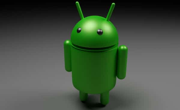 Android OS Smartphone Robot Logo